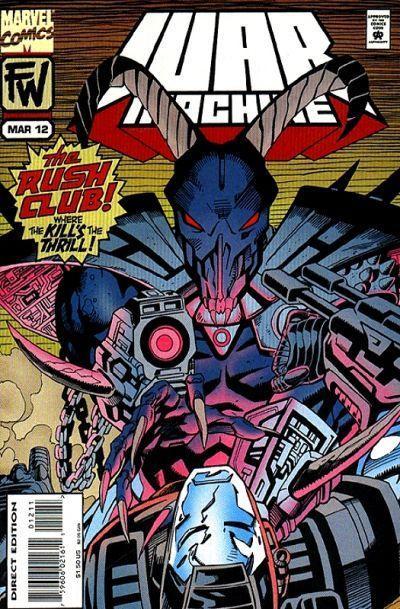 War Machine Vol 1 12