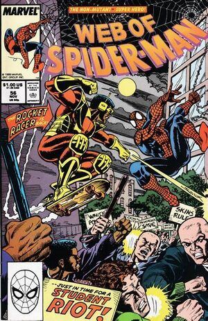 Web of Spider-Man # 56, November, 1989