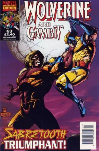 Wolverine and Gambit Vol 1 63