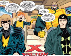 X-Factor (Earth-TRN656) from X-Men Worst X-Man Ever Vol 1 2 001.png