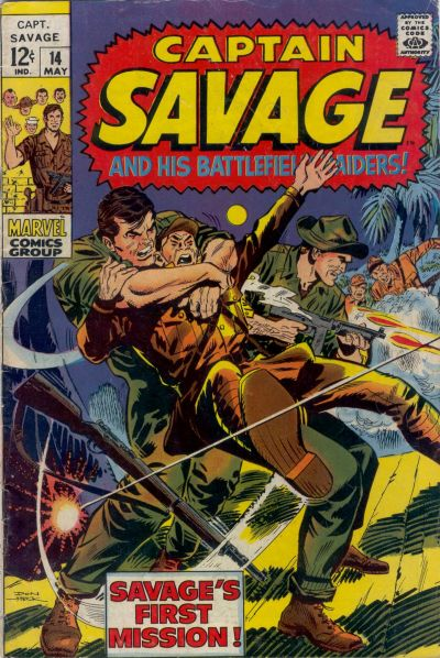 Capt. Savage and his Leatherneck Raiders Vol 1 14