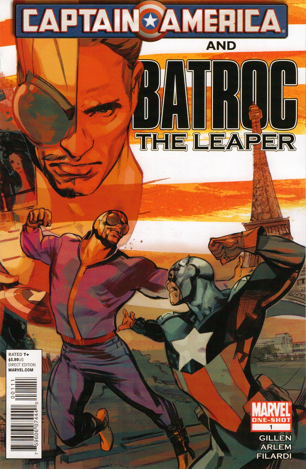 Captain America and Batroc Vol 1