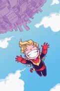 Captain Marvel Vol 8 1 Baby Variant Textless