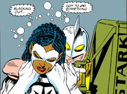 Karla Sofen (Earth-616) and Monica Rambeau (Earth-616) from Captain Marvel Vol 2 1 002