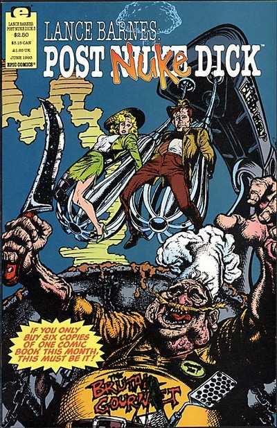 Lance Barnes: Post Nuke Dick Vol 1 3