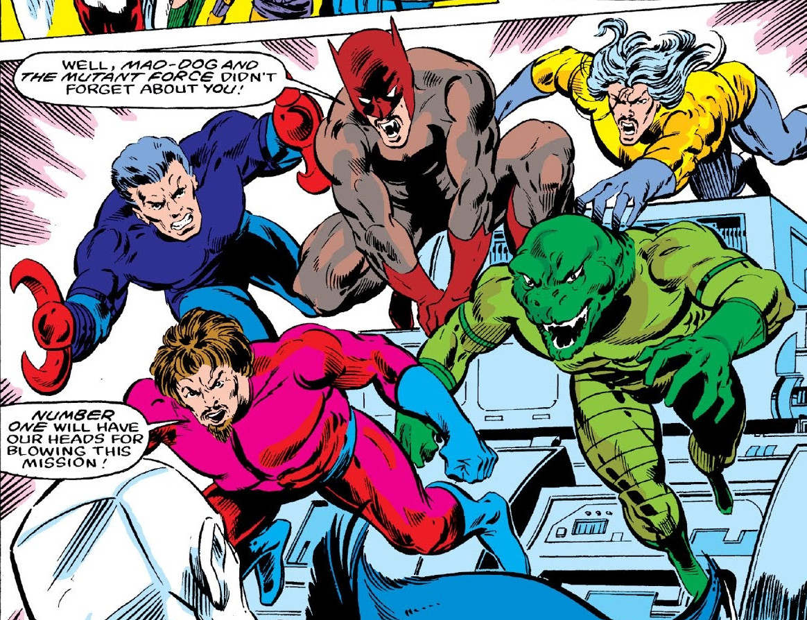 Mutant Force (Earth-616)/Gallery