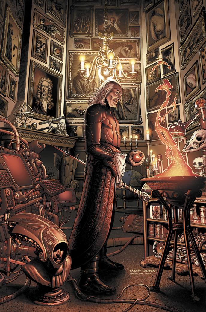 Isaac Newton (Earth-616)