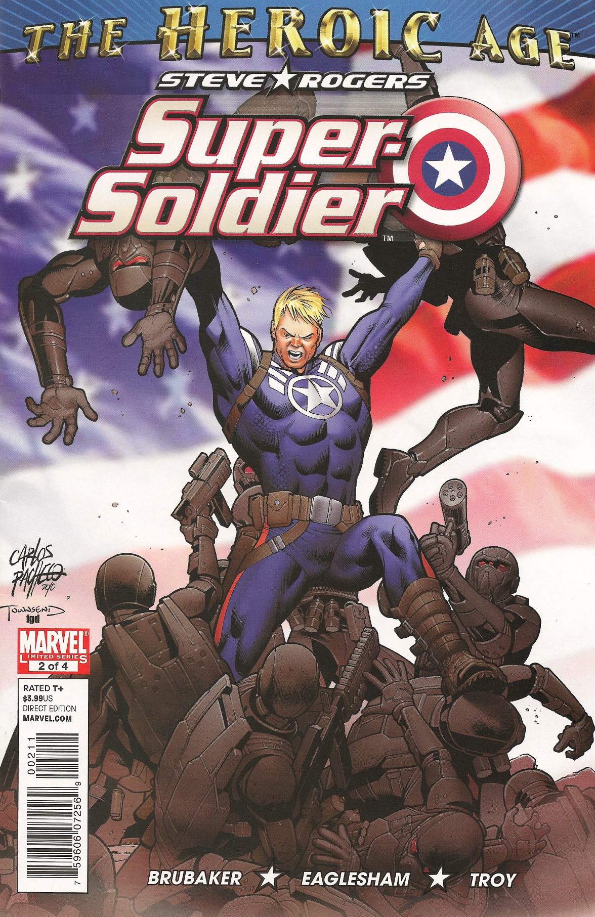 Steve Rogers: Super-Soldier Vol 1 2