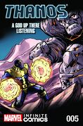 Thanos A God Up There Listening Infinite Comic Vol 1 5