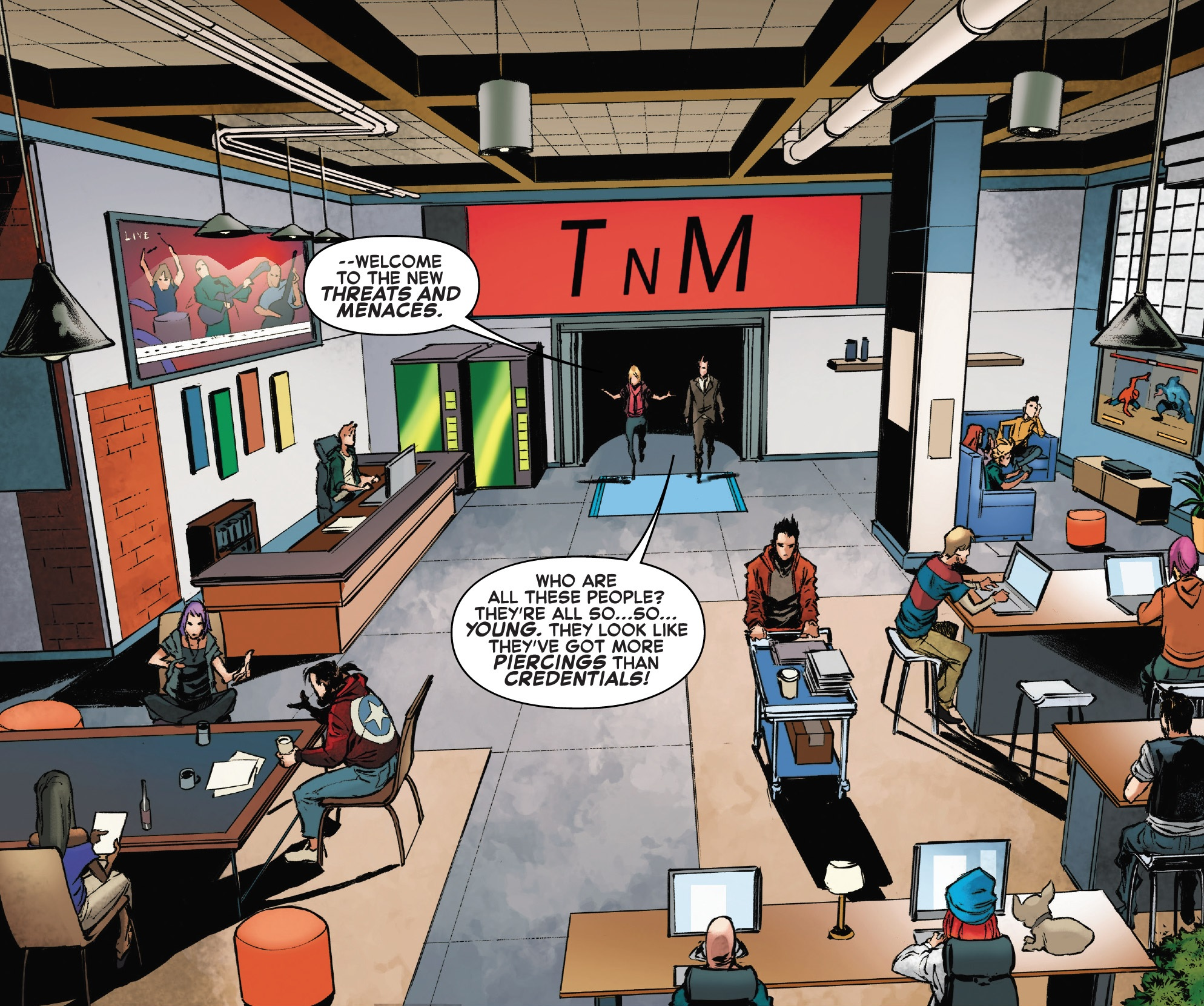 Threats and Menaces (Earth-616)/Gallery