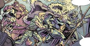Warriors Three (Earth-TRN783)