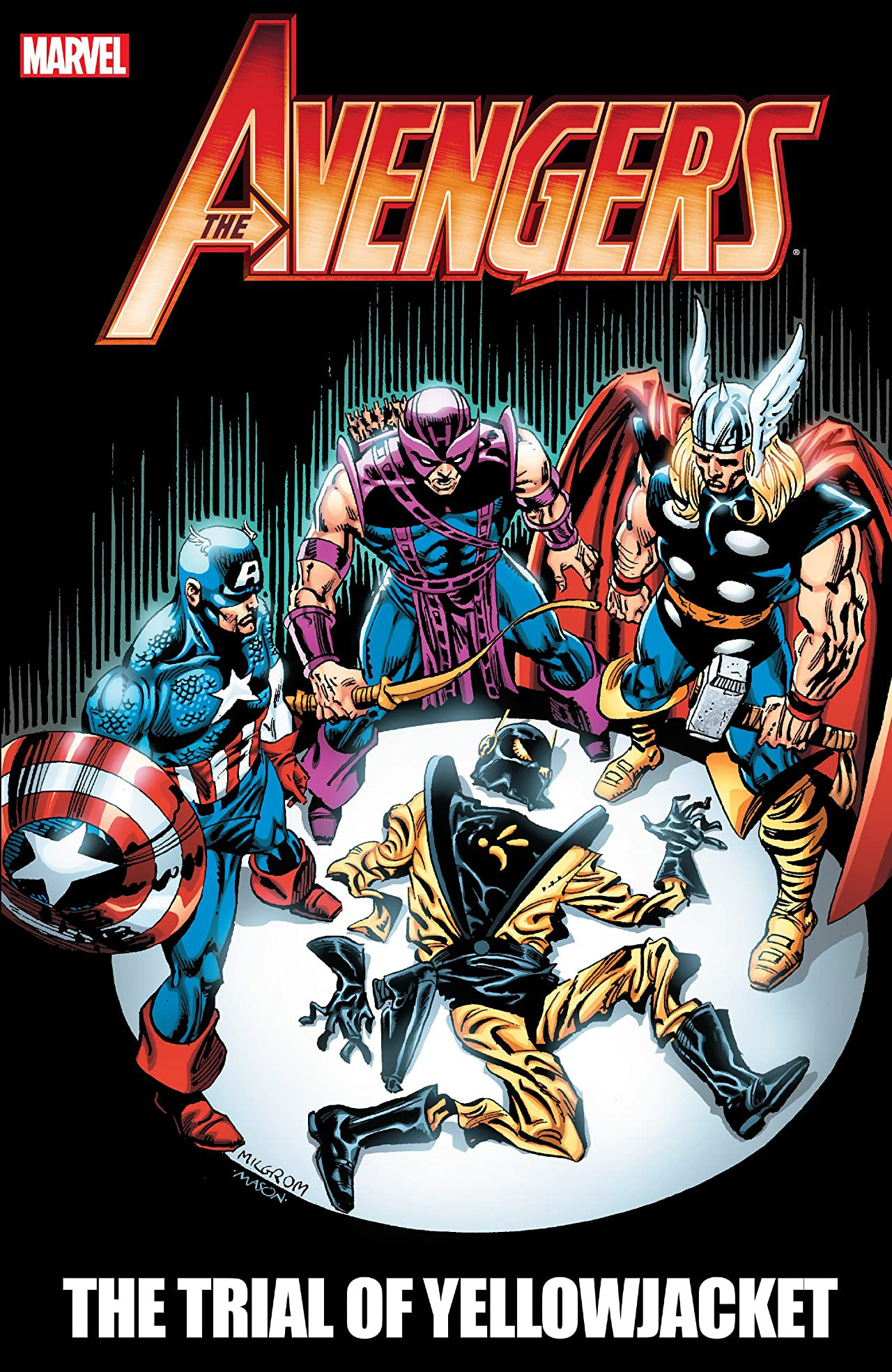 Avengers: The Trial of Yellowjacket TPB Vol 1