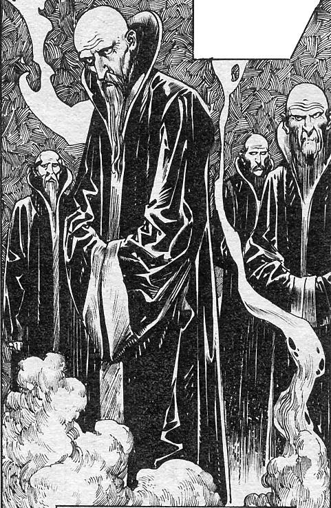 Black Seers of Yimsha (Earth-616)/Gallery