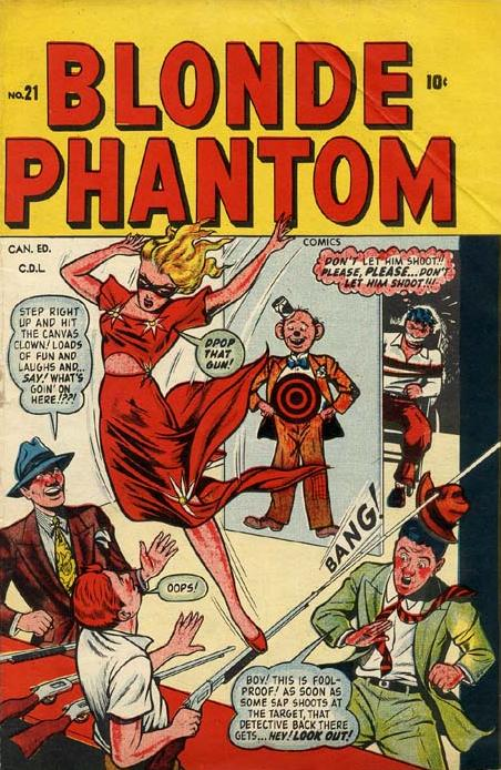 Blonde Phantom Comics Vol 1 21