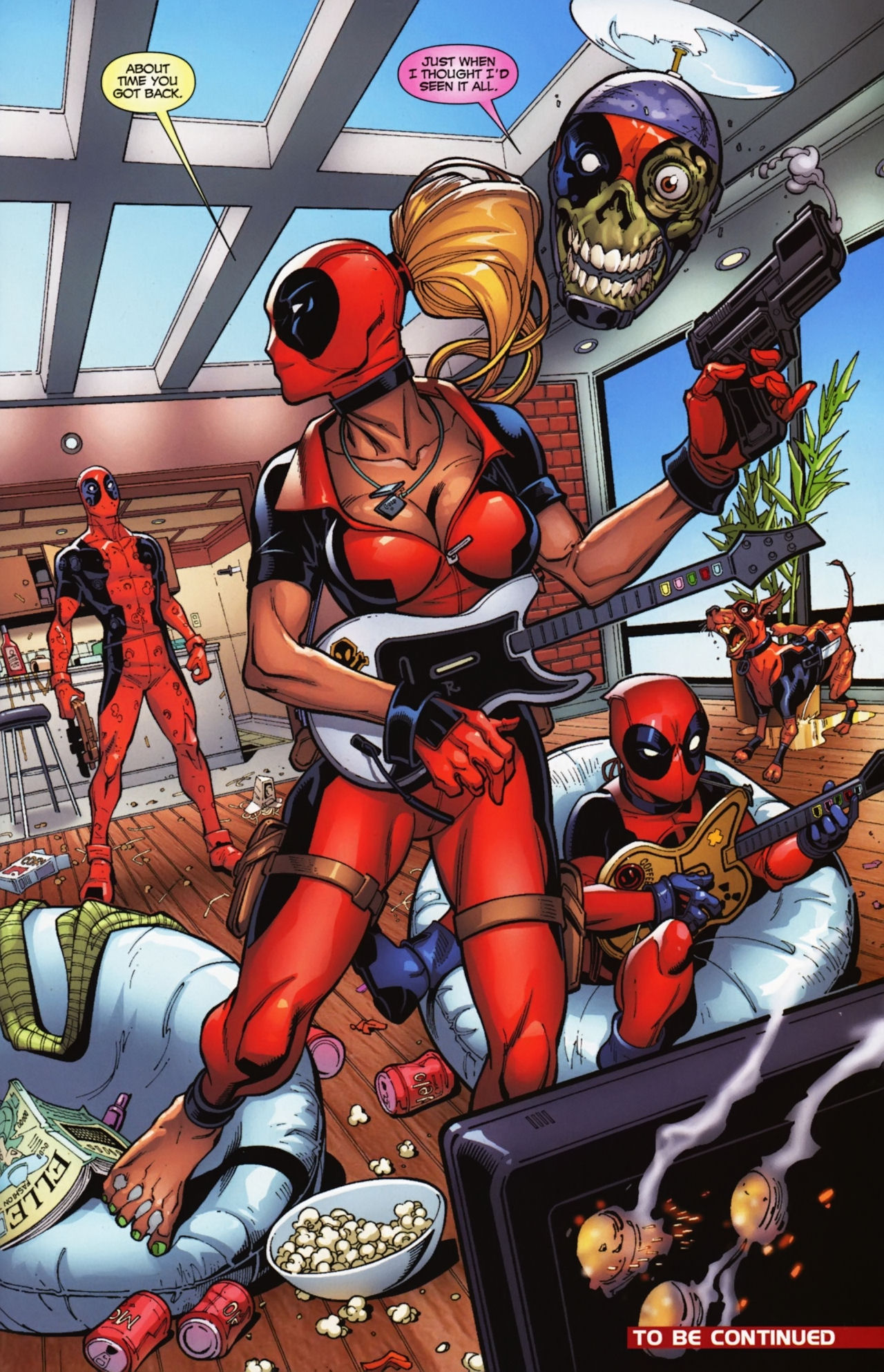 Deadpool Corps (Multiverse)/Gallery