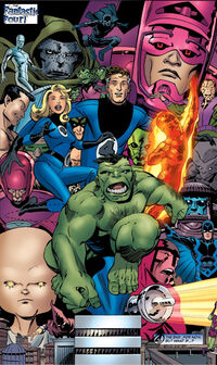 Fantastic Four (Earth-523003) from What If Doctor Doom Had Become the Thing? Vol 1 1 0001.jpg