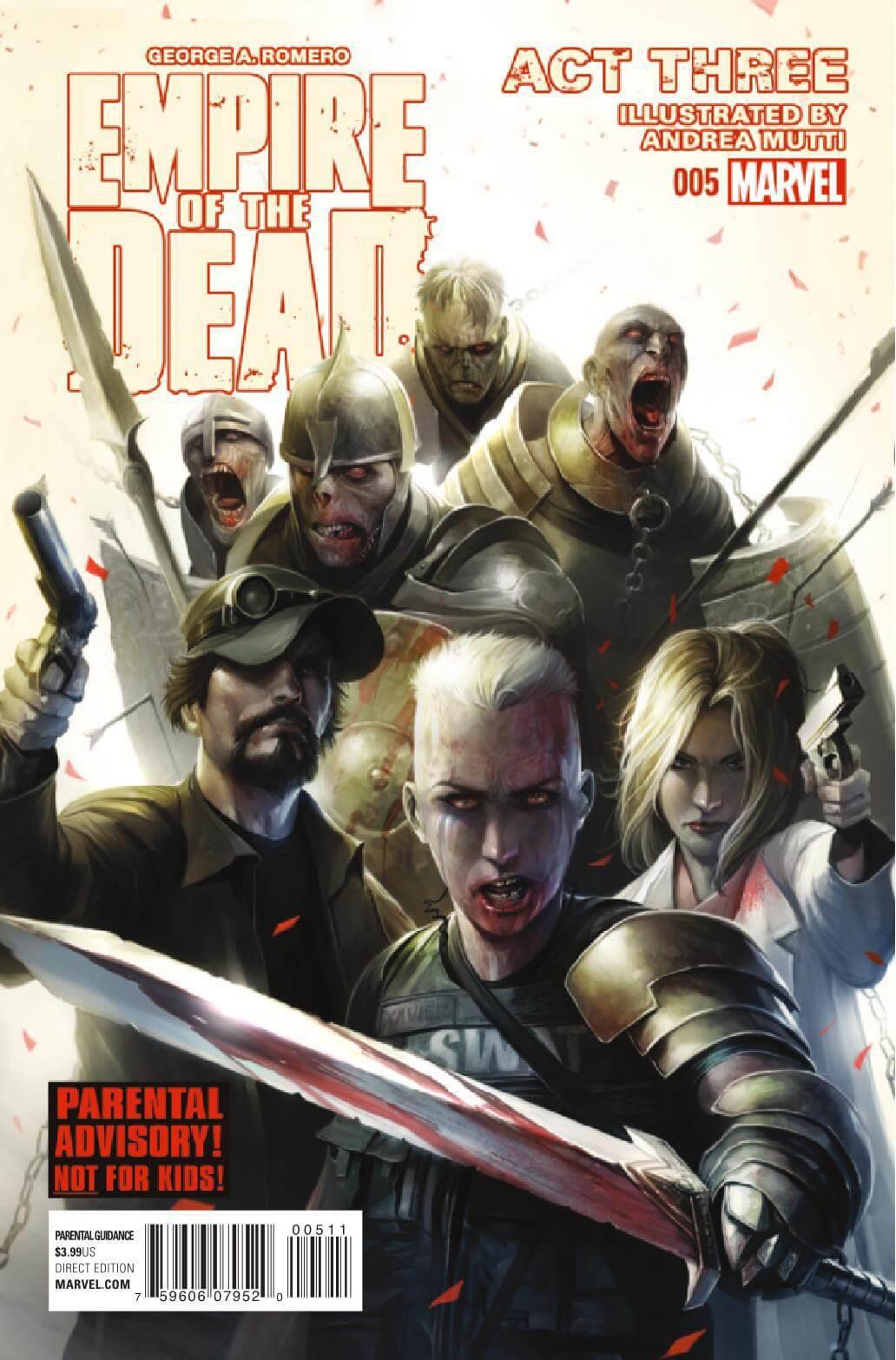 George Romero's Empire of the Dead: Act Three Vol 1 5