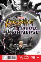 Longshot Saves the Marvel Universe Vol 1 4
