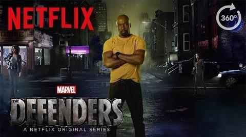 Marvel's The Defenders 360 Street Scene HD Netflix