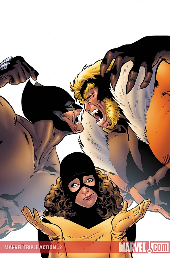 Marvel Triple Action Vol 2 2
