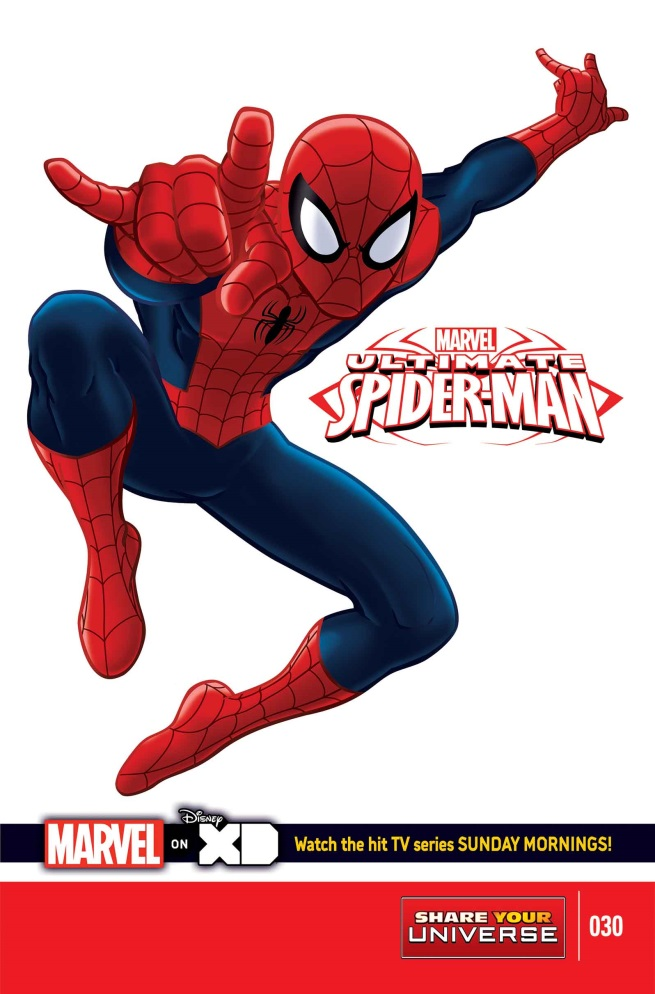 Marvel Universe: Ultimate Spider-Man Vol 1 30