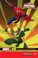 Marvel Universe Ultimate Spider-Man Web Warriors Vol 1 5