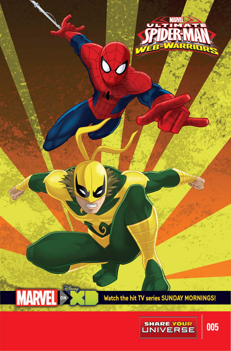 Marvel Universe Ultimate Spider-Man: Web Warriors Vol 1 5