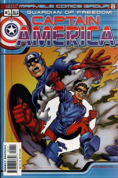 Marvels Comics: Captain America Vol 1 1