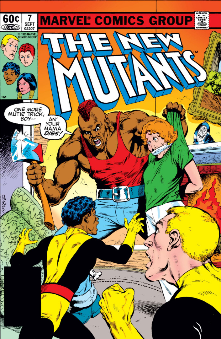 New Mutants Vol 1 7