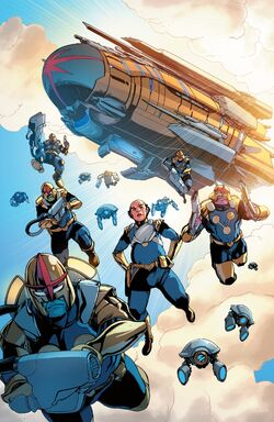 Nova Corps (Earth-616) from Champions Vol 3 8 001.jpg