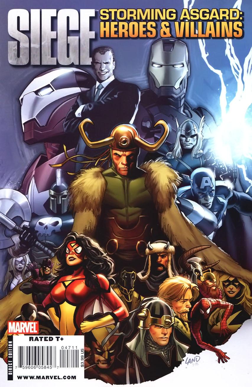 Siege: Storming Asgard - Heroes & Villains Vol 1 1
