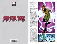 Sinister War Vol 1 1 Handbook Wraparound Variant