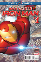 Timely Comics Invincible Iron Man Vol 1 1