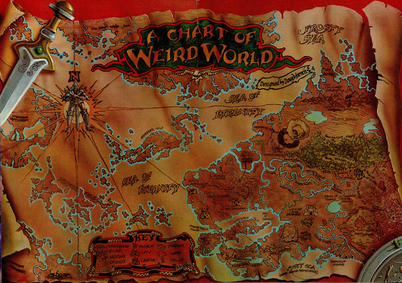 Weirdworld (Planet)/Gallery