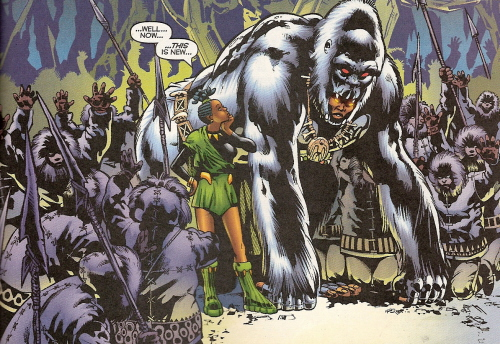 White Gorilla Cult (Earth-616)