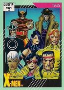 X-Men (Earth-616) from Marvel Universe Cards Series II 0001