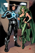 Alexander Summers (Earth-616) and Lorna Dane (Earth-616) from X-Factor Vol 1 230 001