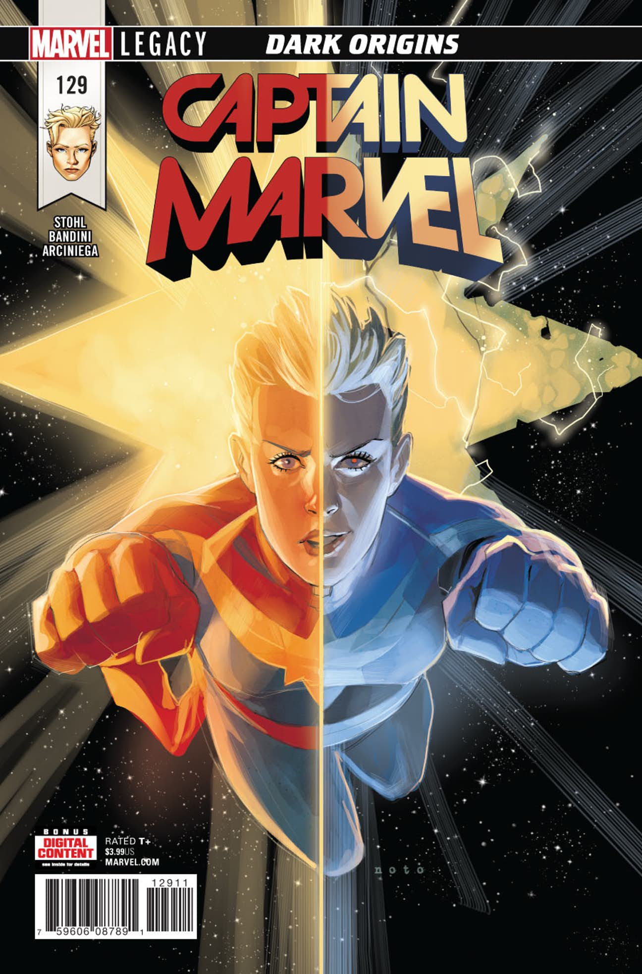 Captain Marvel Vol 7 129