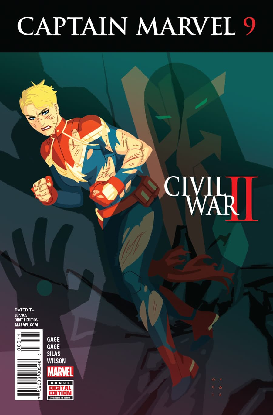 Captain Marvel Vol 9 9