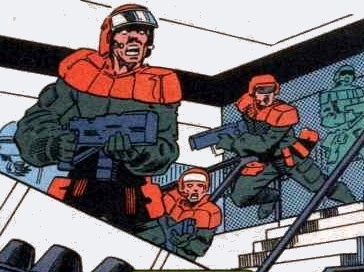 Guardsmen (Earth-928)/Gallery