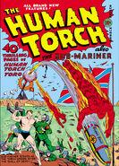 Human Torch Vol 1 5 (Summer)