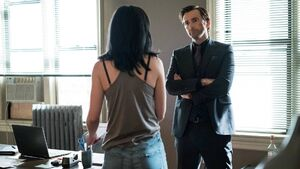Kevin Thompson (Earth-199999) and Jessica Jones (Earth-199999) from Marvel's Jessica Jones Season 1 10.jpg