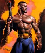 Lucas Bishop (Earth-1191) from Marvel Masterpieces (Trading Cards) Double Impact 001