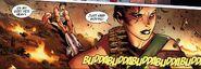 Maria Hill en Jason halen Thor uit de vuurlinie (Siege-2)