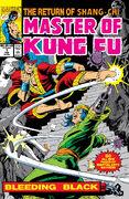 Master of Kung Fu Bleeding Black Vol 1 1