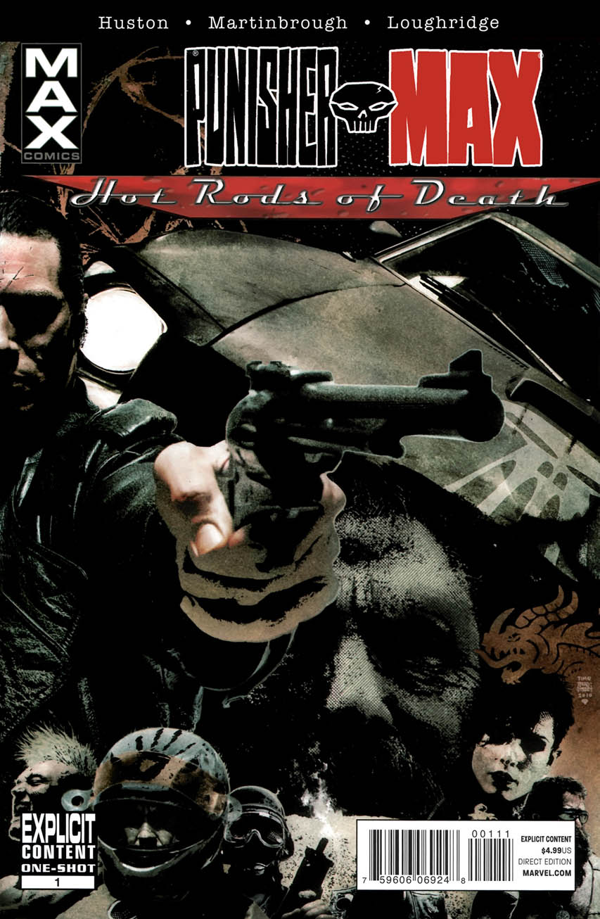 Punisher Max: Hot Rods of Death Vol 1 1