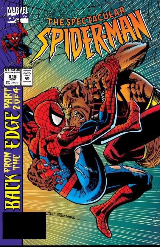 Spectacular Spider-Man Vol 1 218