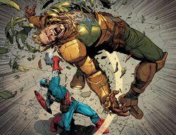 Steven Rogers (Earth-616) vs. Steven Rogers (Earth-61311) from Secret Empire Vol 1 10 002.jpg