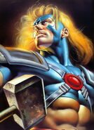 Thor Odinson (Earth-616) from Marvel Masterpieces Trading Cards 1996