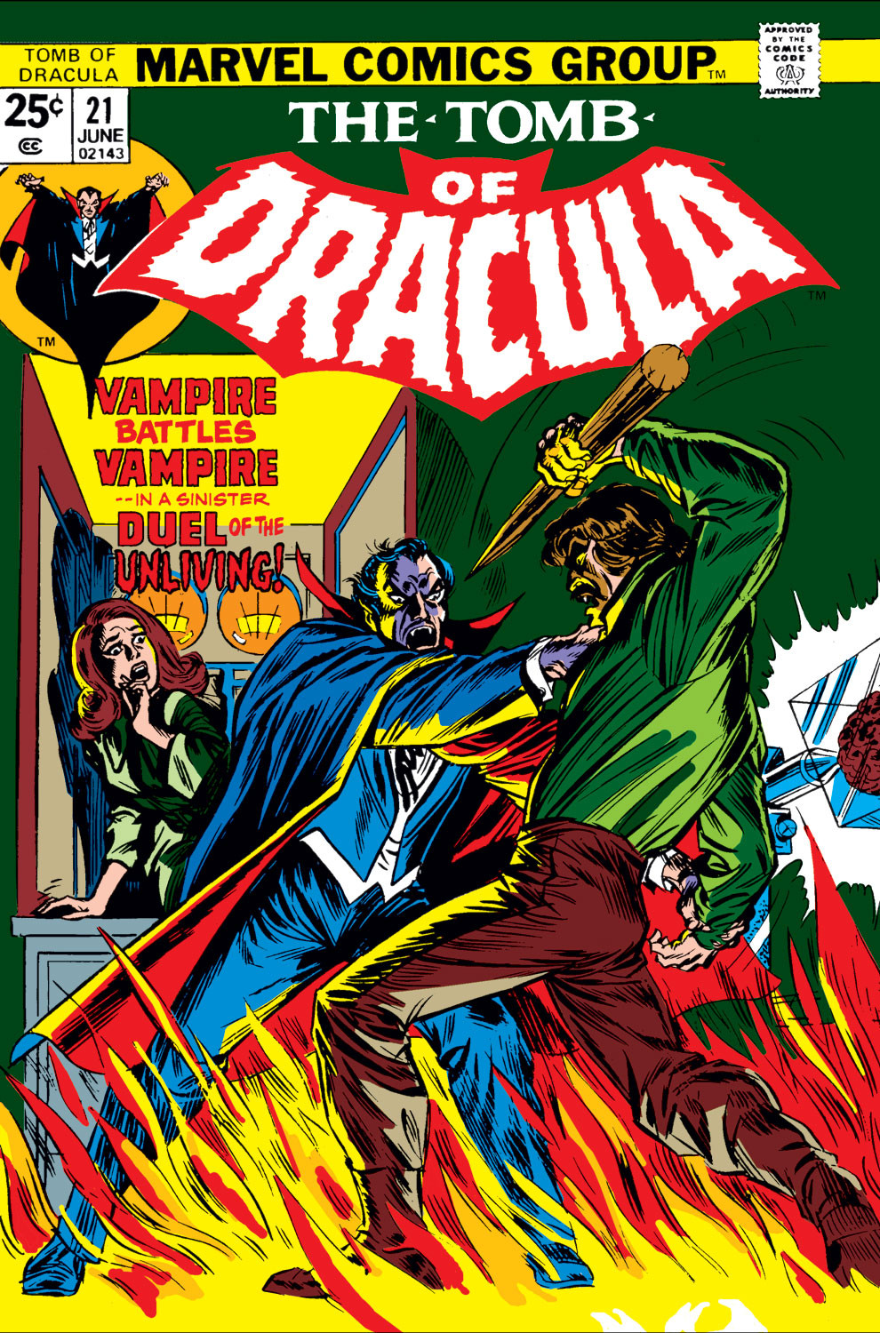 Tomb of Dracula Vol 1 21